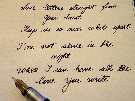 Epistolary Essay Love Letter Series   Love Letters