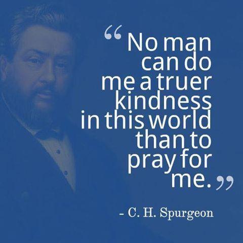 Spurgeon quote on prayer's importance