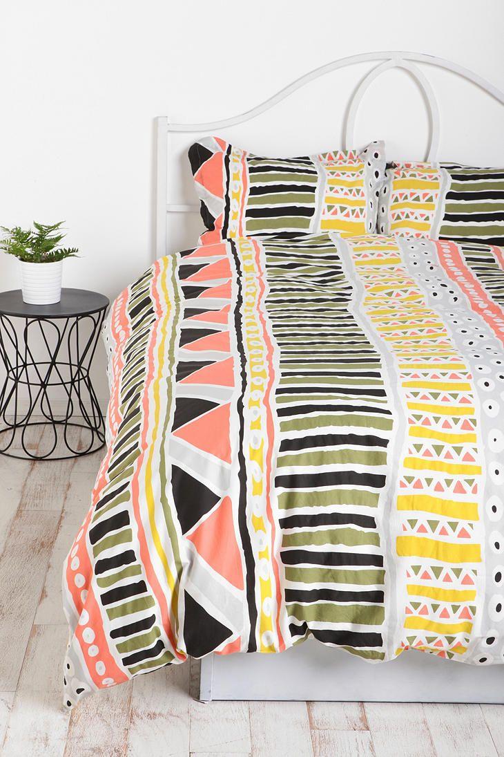 Bauhaus Stripe Duvet Cover ~ Urbanoutfitters