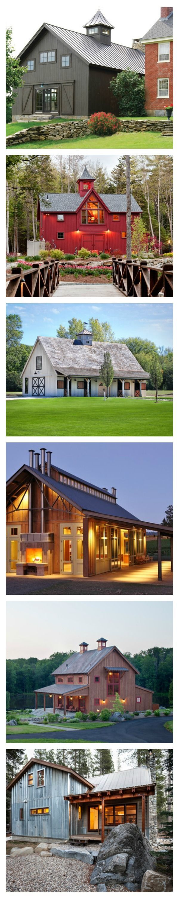 how to construct a simple garage pole barn style barndominium rh pinterest com