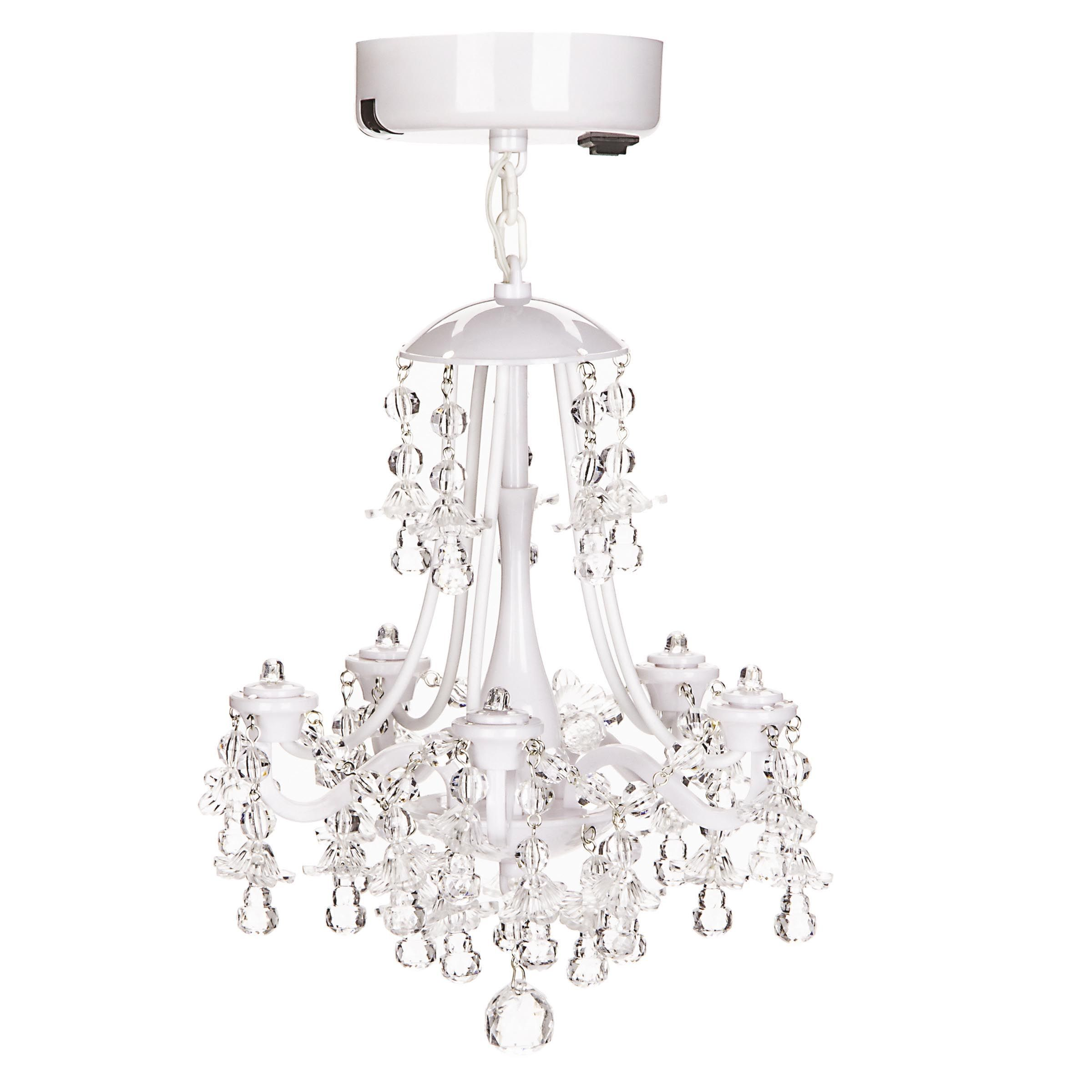 White Locker Chandelier, , Hi-res Perfect For Doll House