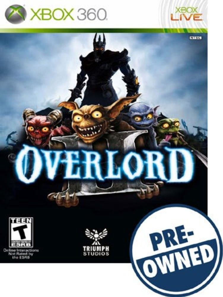 Overlord Ii A Pre Owned Xbox 360 Products Playstation Xbox