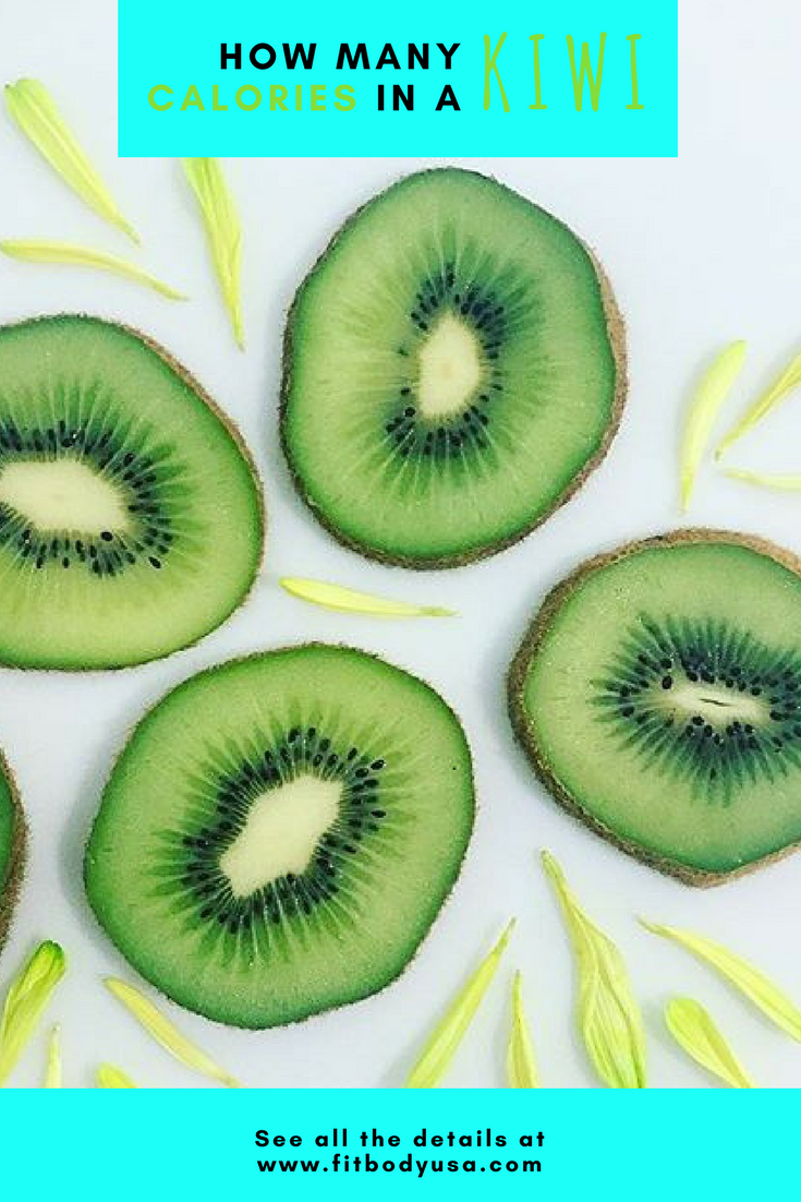 How many calories in kiwi 13