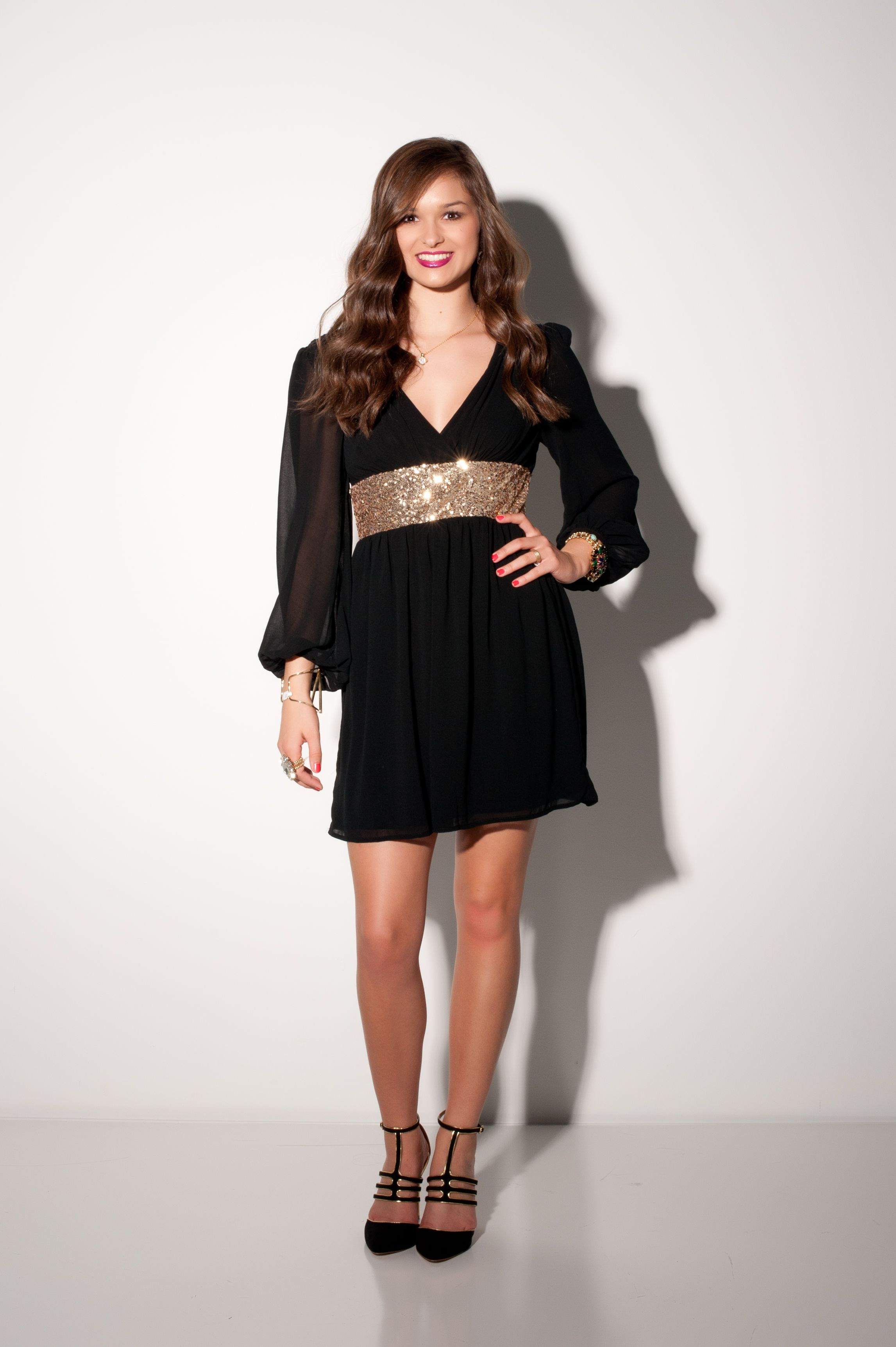 Jingle All The Way Dress #swoonboutique