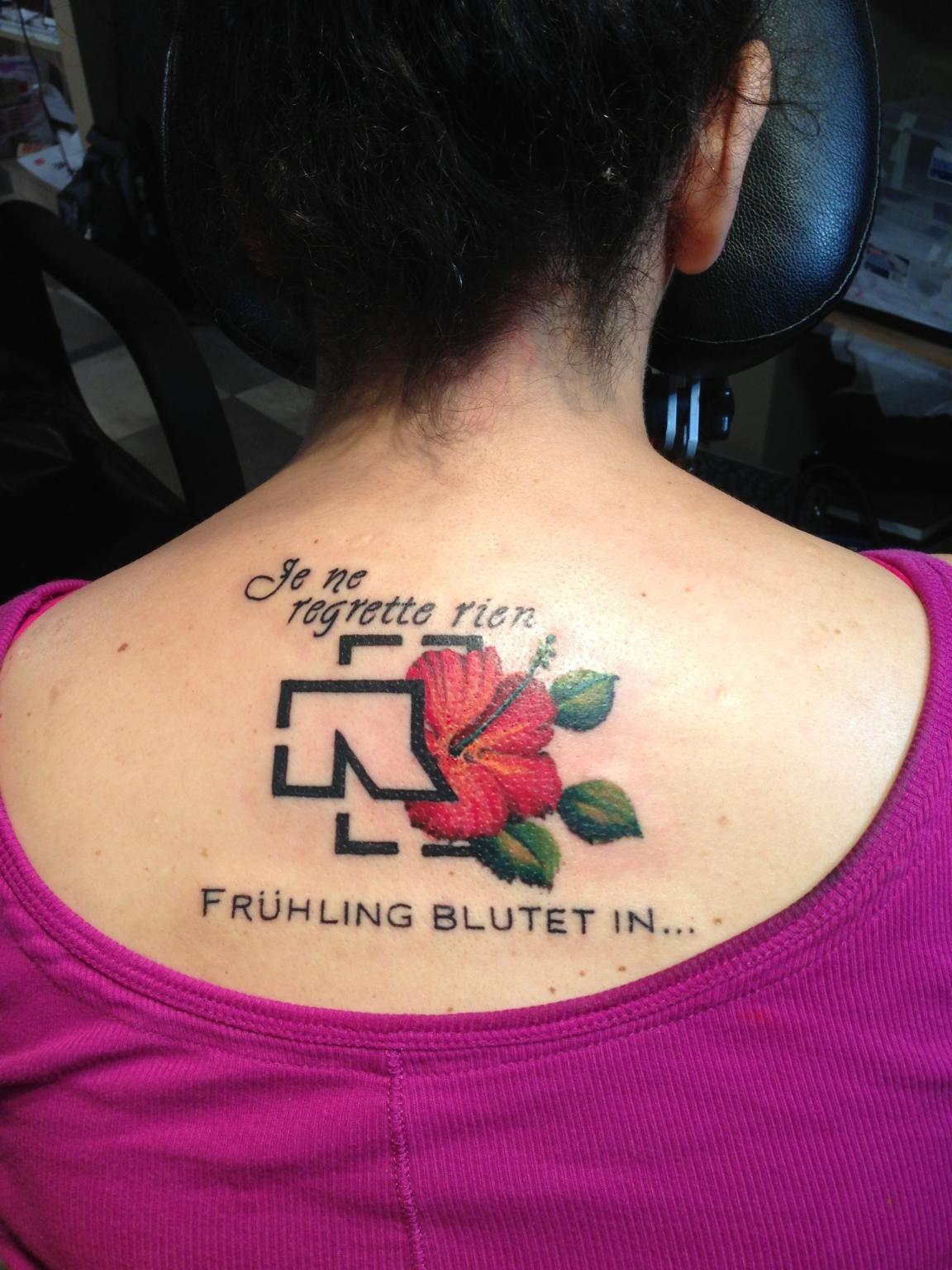 Till Lindemann Tattoo By Mashkow Tattoo Post 30741