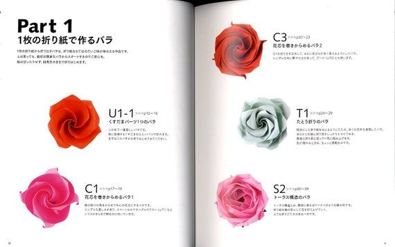 Photo of Origami Roses and Kusudama – Japanese Craft Book