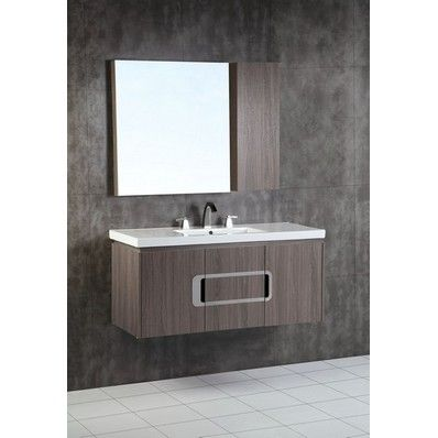 calibri 48 modern single sink bathroom vanity by bellaterra home rh pinterest com