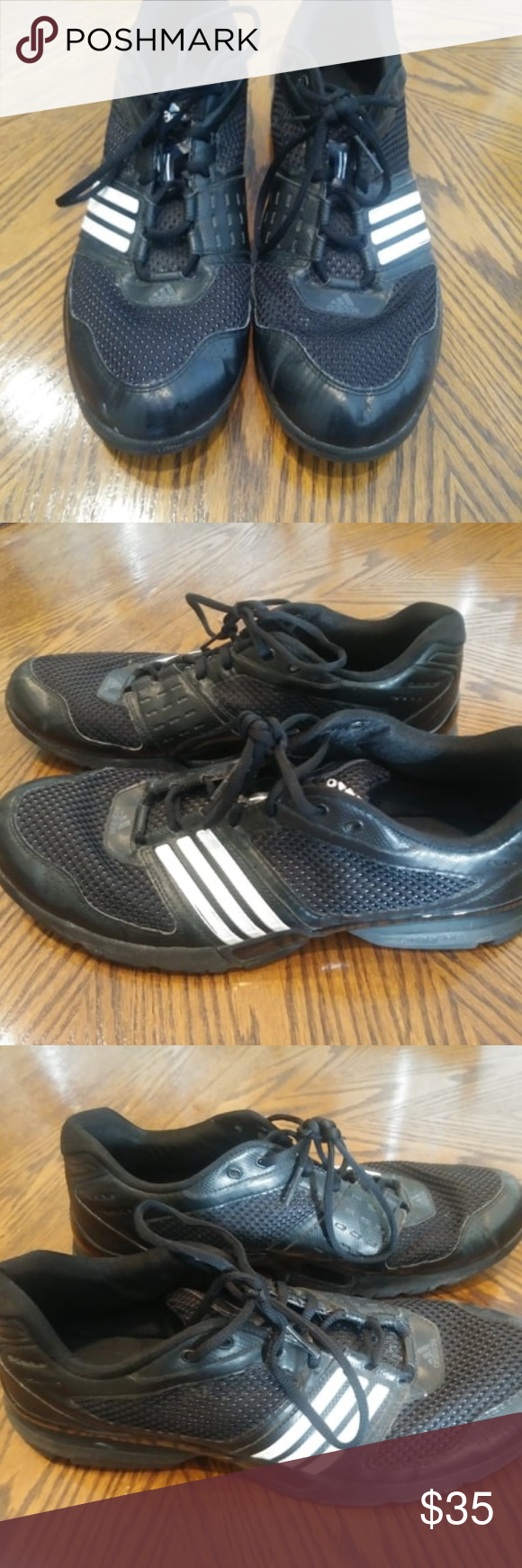 Black Adidas Shoes Size Sneakers 14 Mensboys Mens 2009 wO8kn0P
