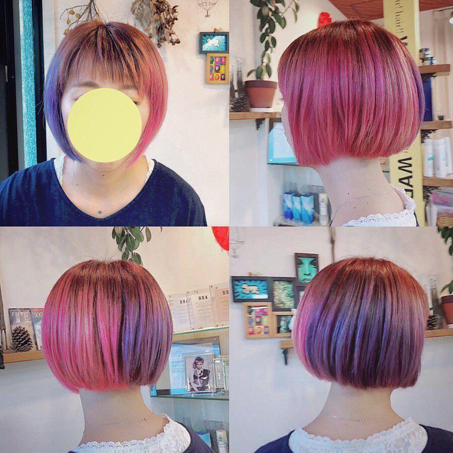 W.∀.P YamaguchiさんはInstagramを利用しています「ヘアカラー