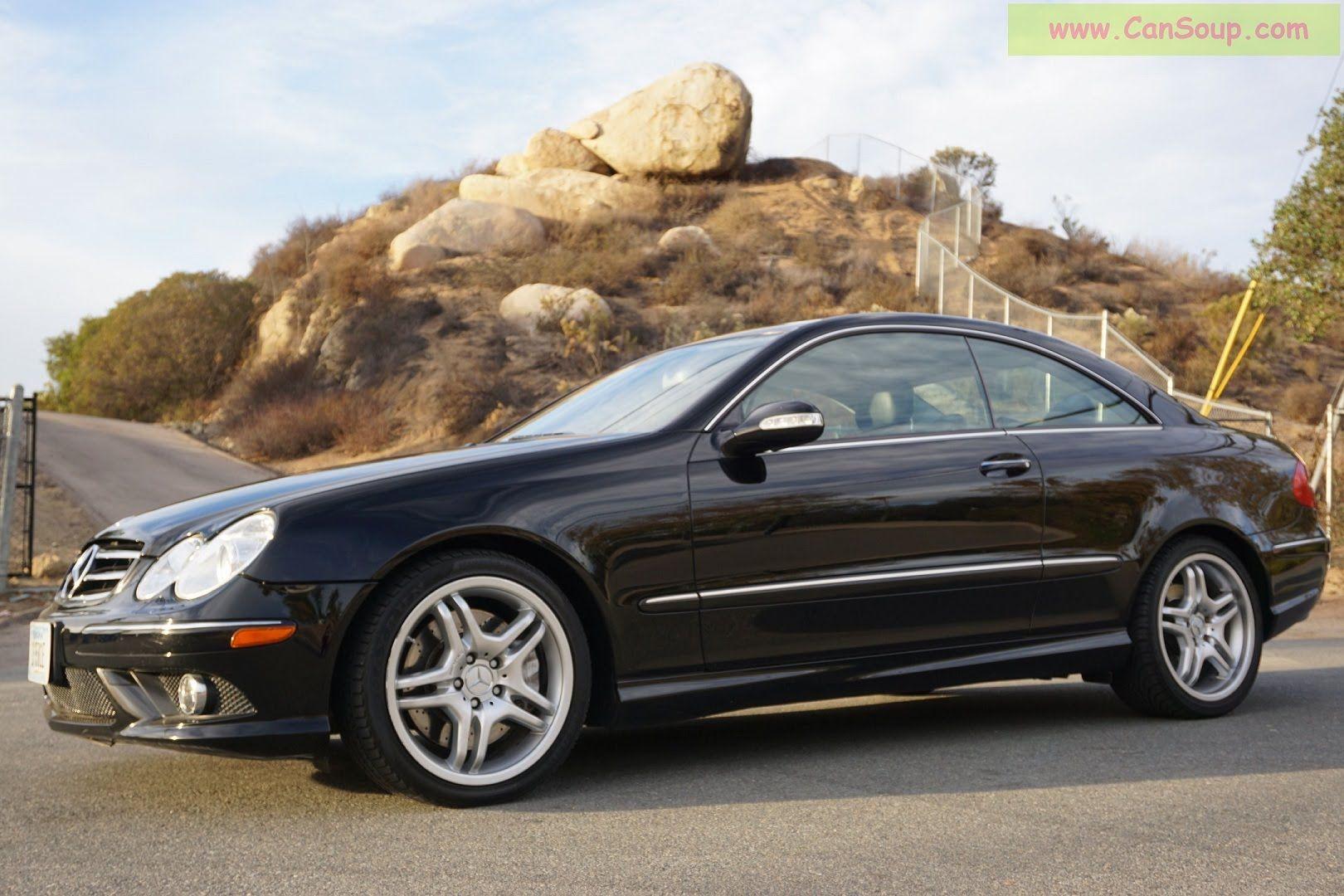 Mercedes Benz Clk550 A209 C209 Clk55 Amg Pkg Review 2008