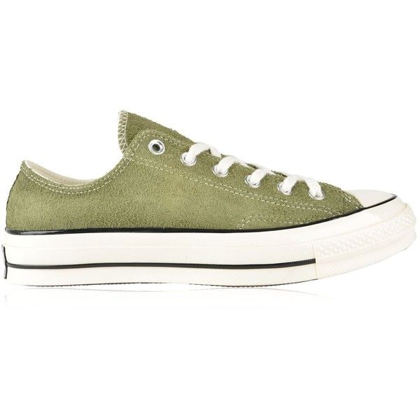 5e0fcb921afb1e CONVERSE Chuck Taylor All Star 70 Vintage Suede Ox Trainers ( 68) ❤ liked  on Polyvore featuring shoes
