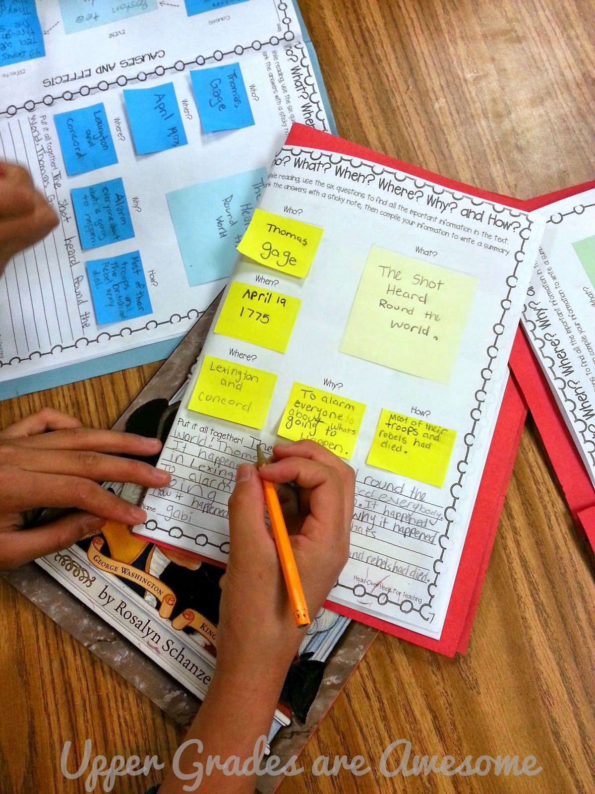 Sticky Note for nonfiction Sticky Note for