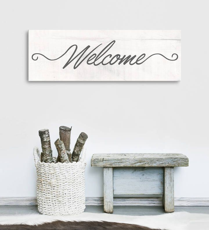 Etsy Welcome Wall Art, Rustic Welcome Sign, Rustic Home Decor ...
