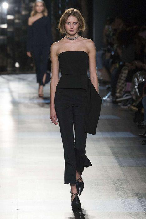 Cushnie Et Ochs, Automne/Hiver 2017, New York, Womenswear