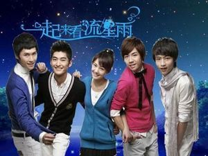 Meteor Shower.  This is the Chinese version of the famous drama Boys Before Flowers. Different story, new characters, beautiful romance.