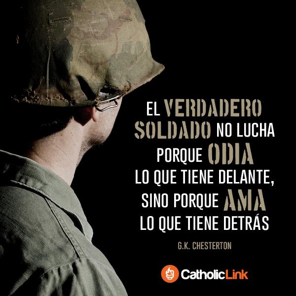 Biblioteca De Catholic Link El Verdadero Soldado Gk