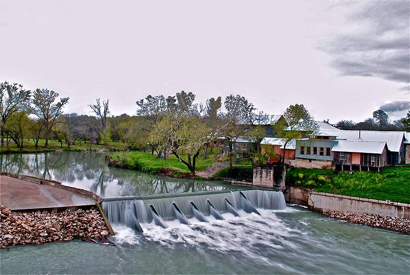 Zedler Mill Is Near Luling Texas Located On The Banks Of The San Marcos River This Architectural Treasure Was Weather Underground Luling Texas Texas Views