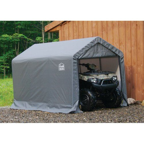 ShelterLogic Shed In A Box Canopy Storage Shed   6L X 10W X