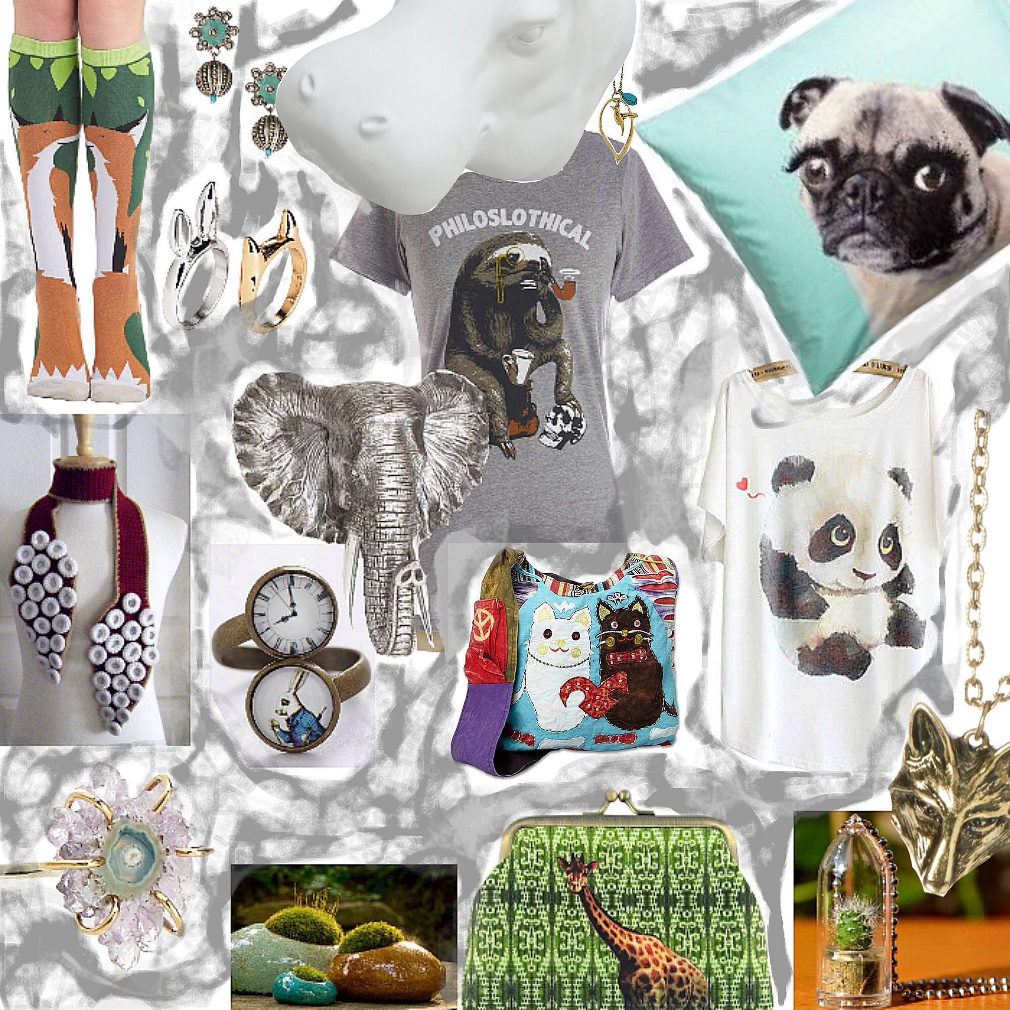 Inde Girls Love Animals Choice In Jewelry Accessories Come With