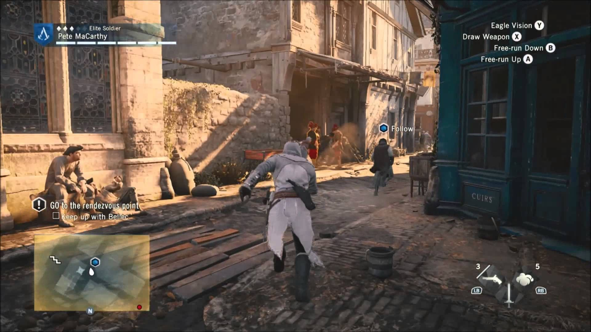 Assassins Creed Unity Gameplay Walkthrough Part 5 Sequence 3