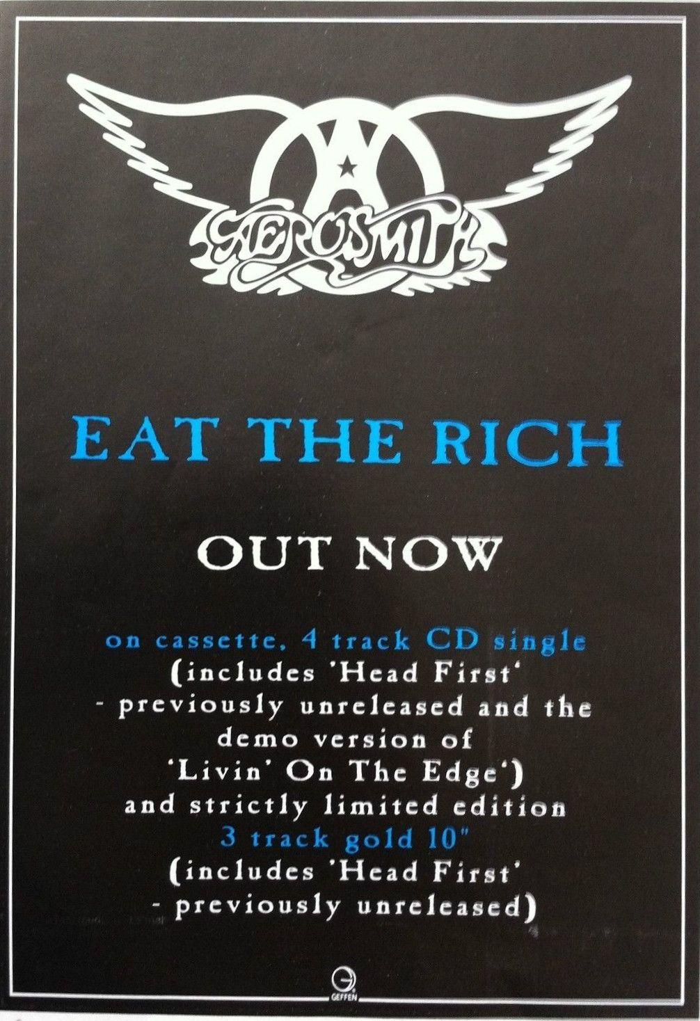 Aerosmith Promotional Ad