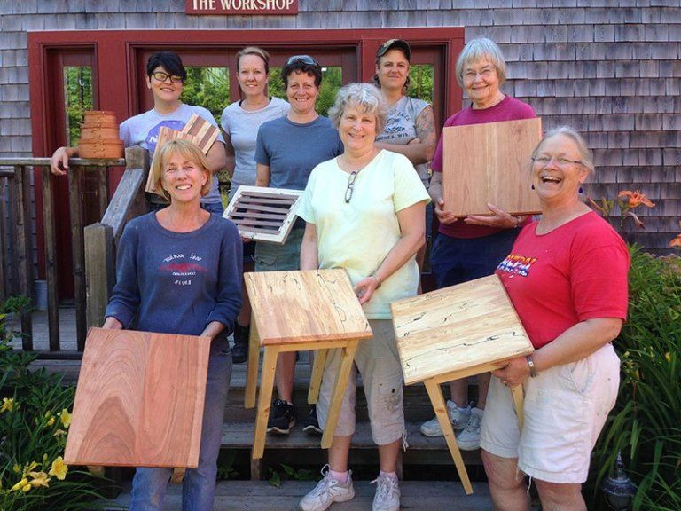 6 womenfocused woodworking classes to take this summer