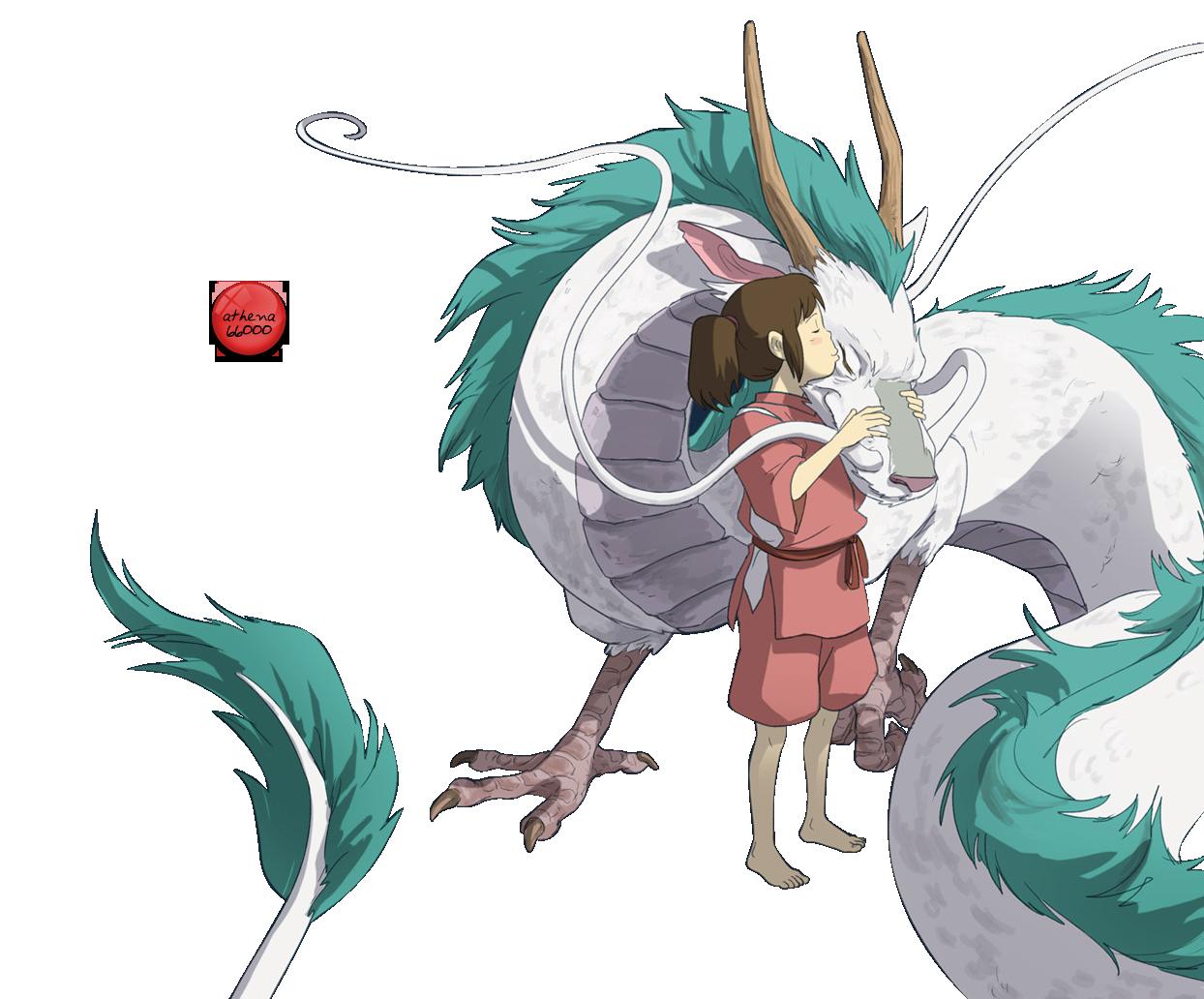 Image Result For Haku Spirited Away Png Le Voyage De Chihiro Ghibli Dessin Voyage