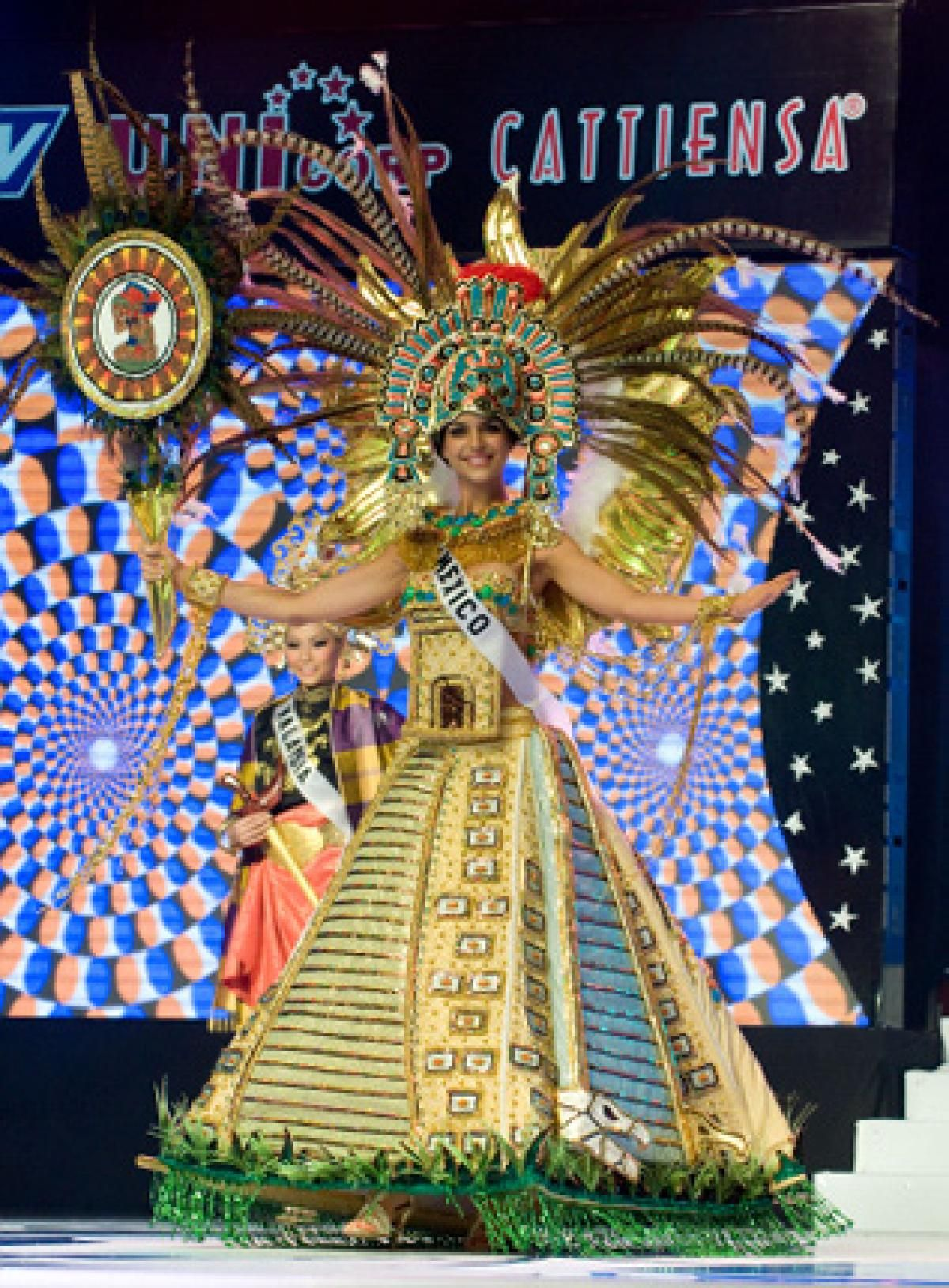 latinas at miss universe slide 4 mexico national costume