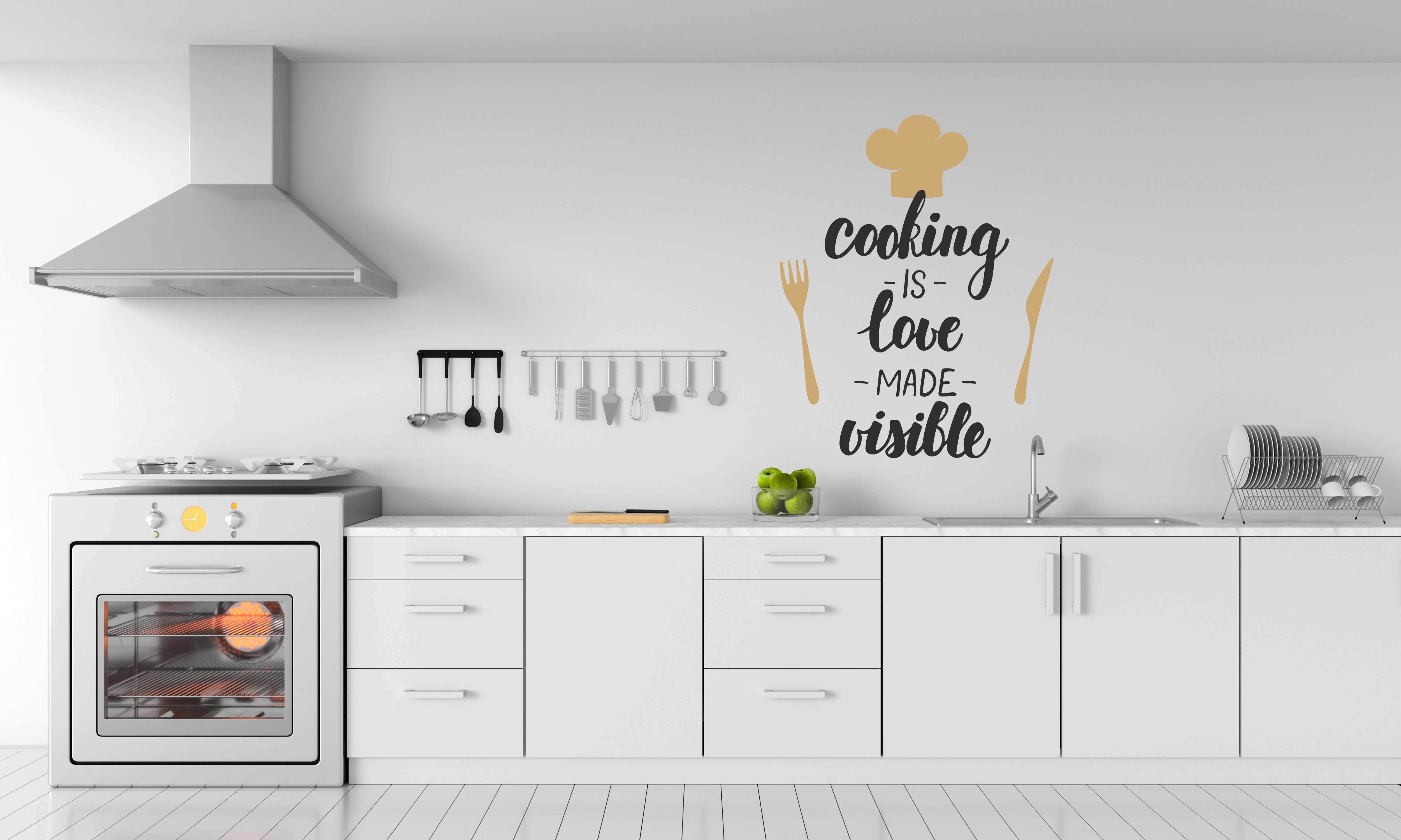 Wall Quotes  Kitchen quotes, Home decor, Home decor decals