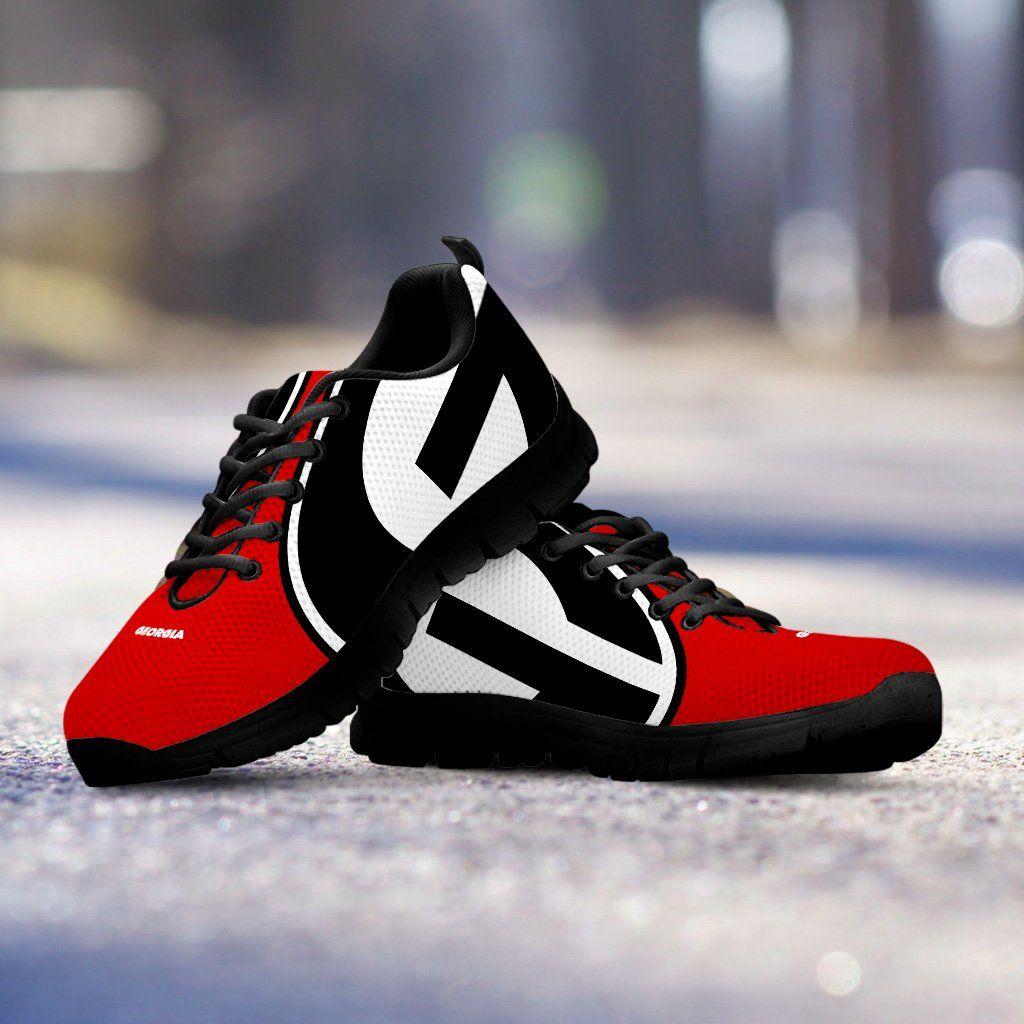 Georgia Bulldog Shoes | Shoes | Pinterest | Zapatos deportivos ...