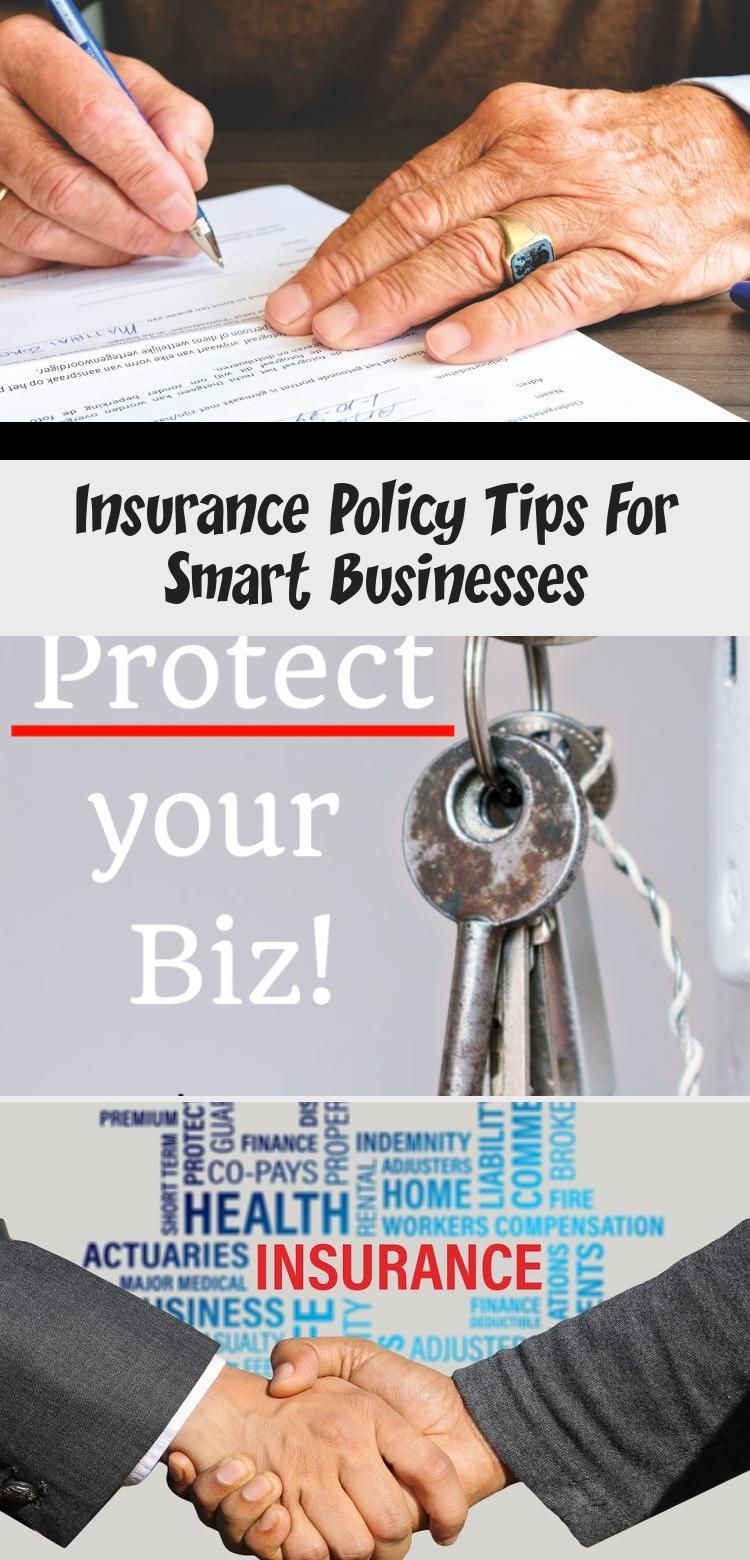 Insurance Policy Tips For Smart Businesses Bagofcent