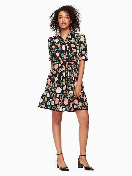 4c09de00790 Kate Spade Blossom Fluid Shirtdress
