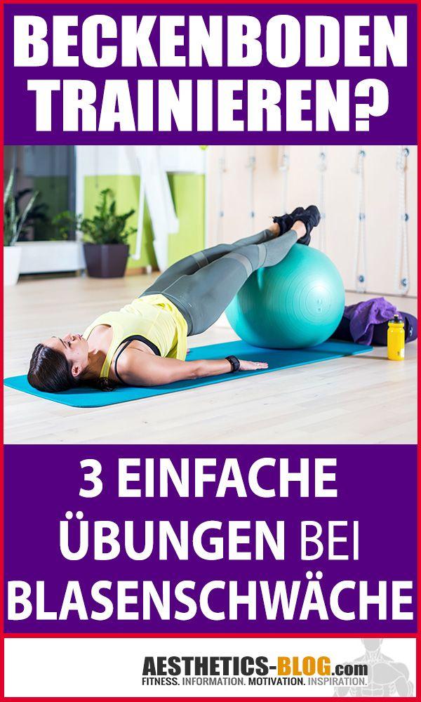 Du leidest unter einer #Blasenschwäche? Dann solltest Du unbedingt Deinen #Beckenboden #trainieren!...