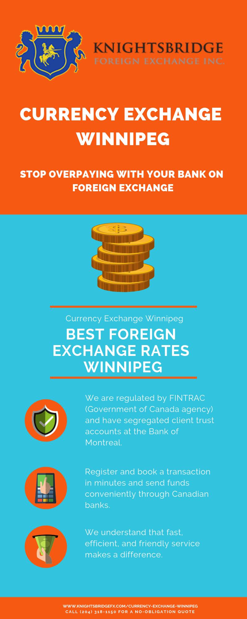 Best Foreign Exchange Rates Winnipeg