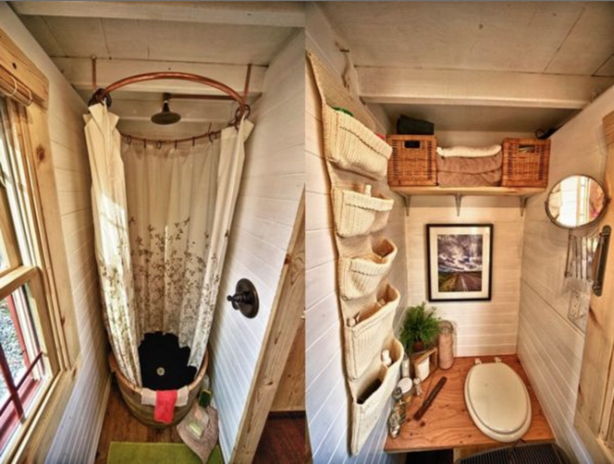 Caravan bathroom unit - Cool Camper Bathroom Diy