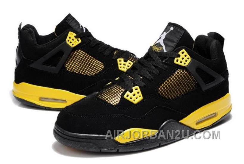 http://www.airjordan2u.com/discount-soldes-acheter-homme-nike-jordan-retro-4-chaussure-de-basketball-noir-jaune-vente.html DISCOUNT SOLDES ACHETER HOMME NIKE JORDAN RETRO 4 CHAUSSURE DE BASKET-BALL NOIR JAUNE VENTE Only $70.42 , Free Shipping!