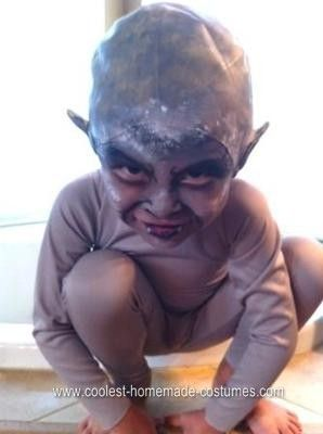 coolest homemade child gargoyle halloween costume - Child Halloween Costumes Homemade
