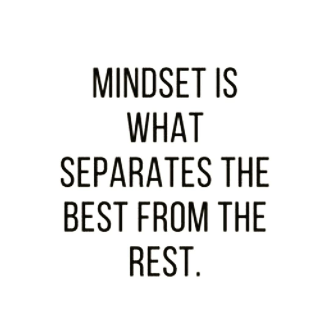 Strengthen your mind first