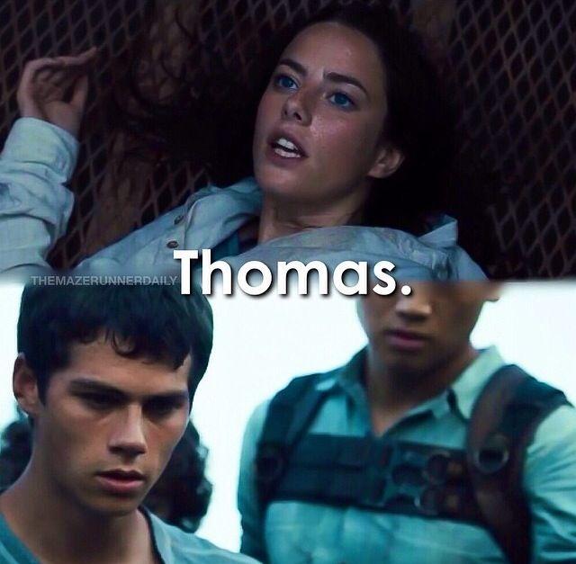 Teresa Definitely Did NOT Say Thomas As She Entered Glade