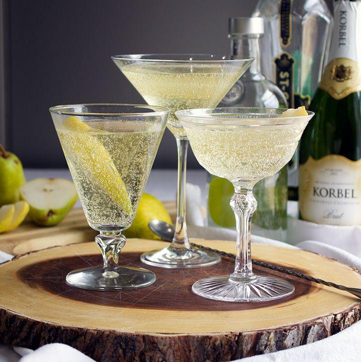 Pear Martini, Pear Drinks