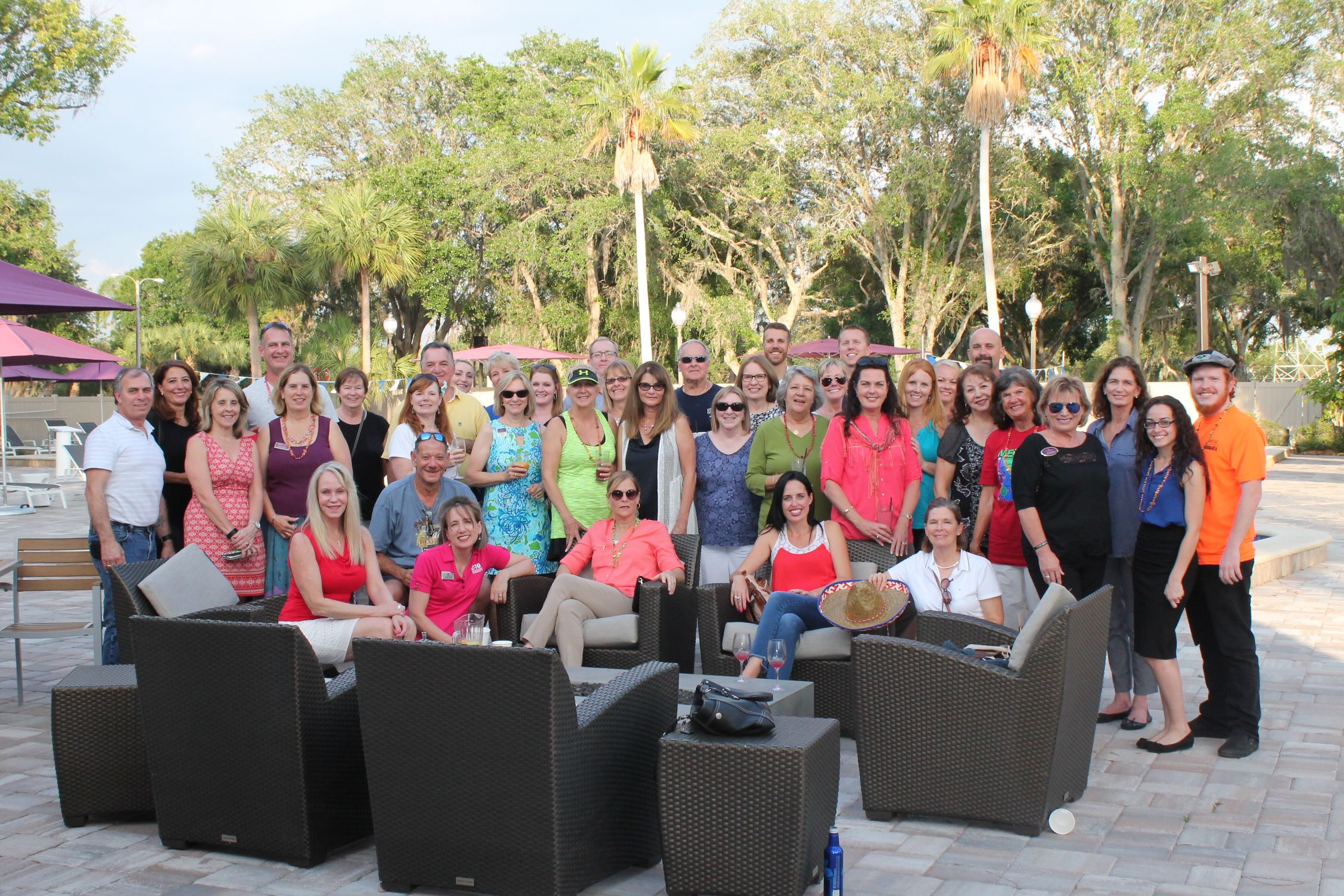Our Appreciation Get Together at East lake Woodlands Country Club in May 2017