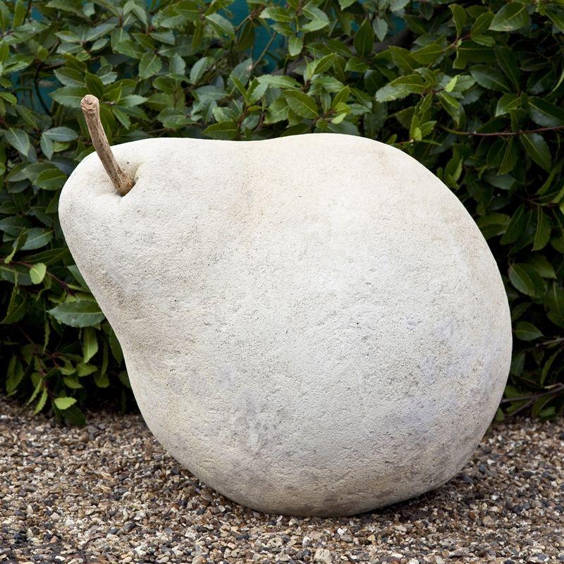 Cement Garden Art: Garden Art Plus Stone Pear