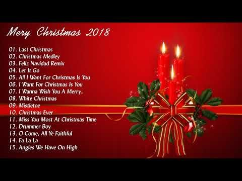 Christmas Songs 2018 Best 100 Christmas Songs Collection Merry Christmas Songs 2018 Youtube Xmas Songs Christmas Medley Christmas Wishes