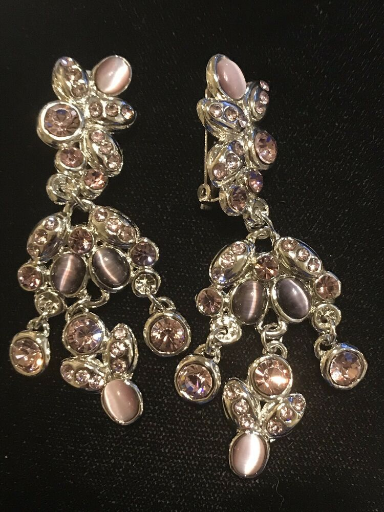 Vintage Cloisonn\u00e9 style enamel and gold tone clip on earrings small earrings clip on earrings retro earrings