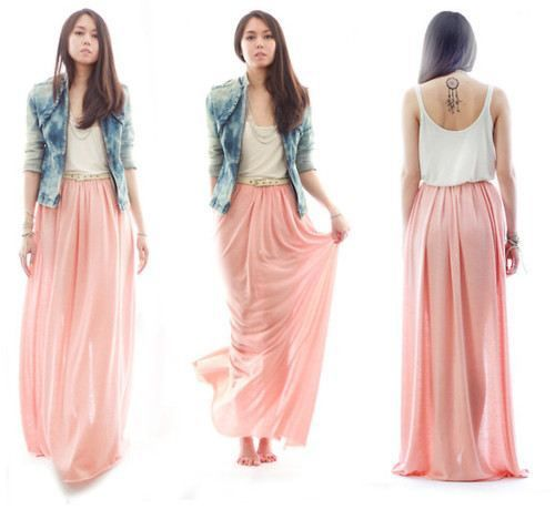 17 Best images about Wedding beige maxi skirt inspiration on ...