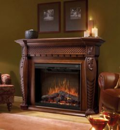 electric heater fireplace mantle