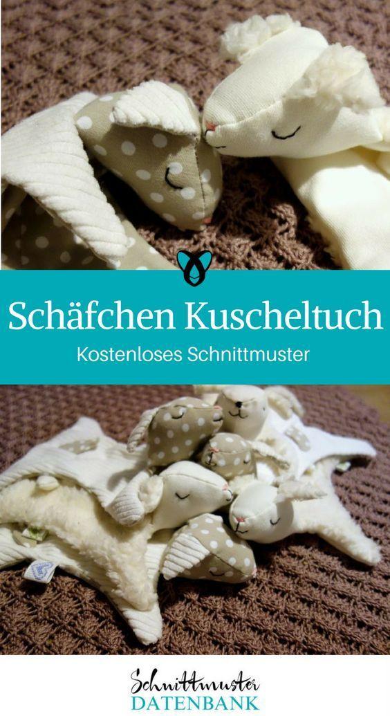 Photo of Schäfchen Kuscheltuch