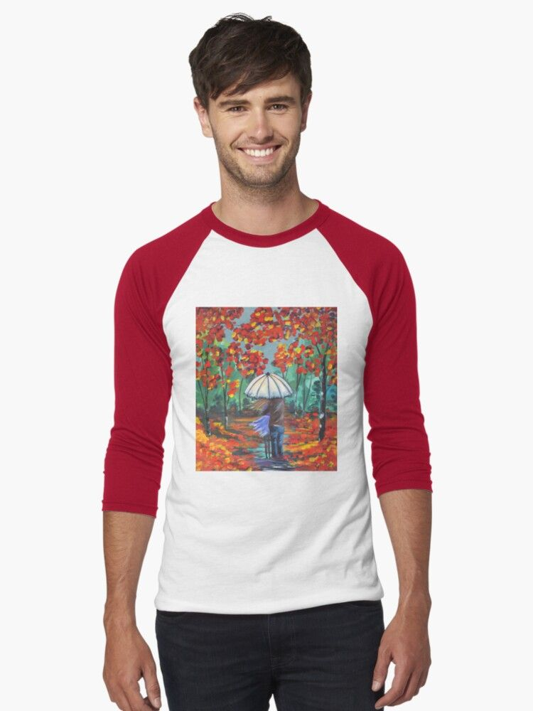 Autumn Rain   Slim Fit T-Shirt