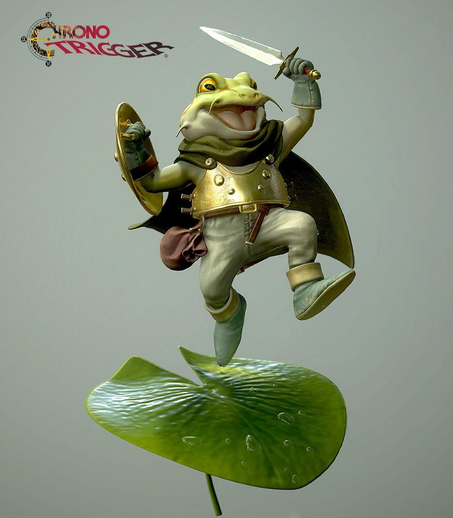 Chrono Trigger Frog Andrew Klimas On Artstation At Https Www Artstation Com Artwork Q0ya2 Chrono Trigger Chrono Character Design