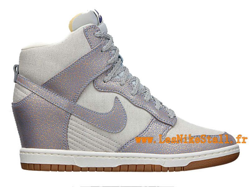 premium selection c429d f0441 ... ireland officiel nike dunk sky high vintage gs chaussures nike  basketball pas cher pour femme metallic